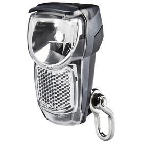 Busch + Müller Lumotec IQ Eyro Fietsverlichting voor montage aan voorvork zwart/zilver
